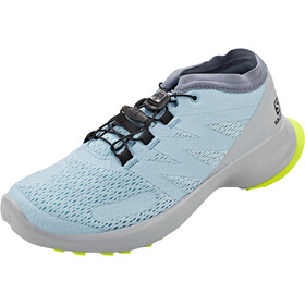 Salomon Sense Flow Buty Kobiety, angel falls/pearl blue/safety yello